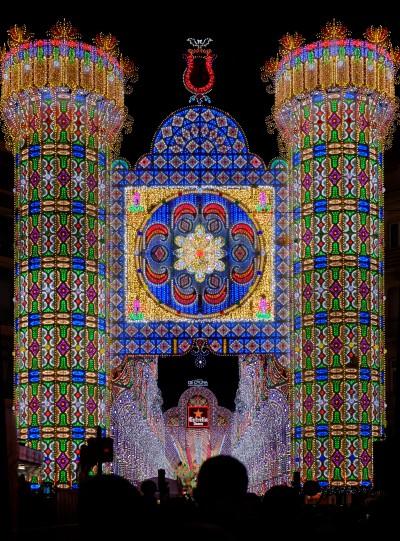 Falla de luces - Valencia