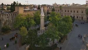 Plaza del triunfo - Sevilla