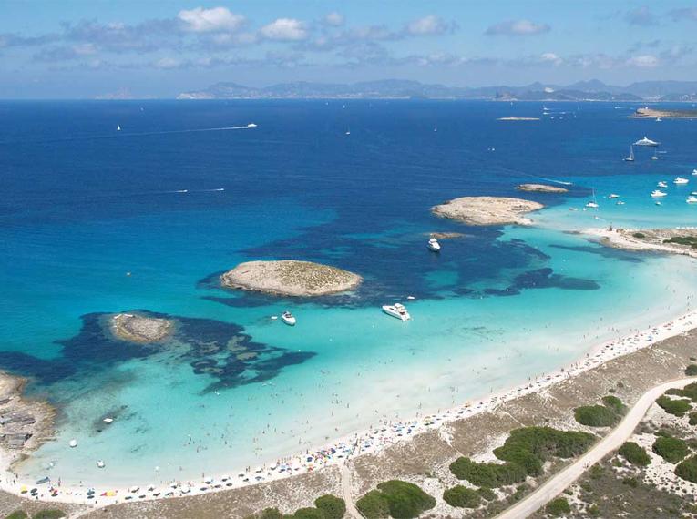 Playa de Ses Illetes - Fomentera